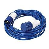 Silverline 981201 Alargador de cables, 240 V, 14 m