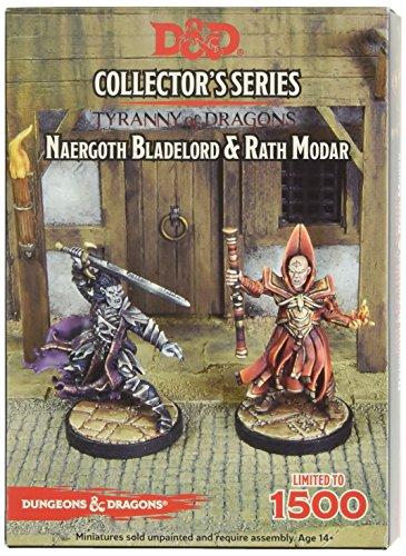 Gale Force Nine Gf971036 -Tyrannie du Dragons Naergoth Bladelord et Rath Modar 2 figurines- jouet - version anglaise