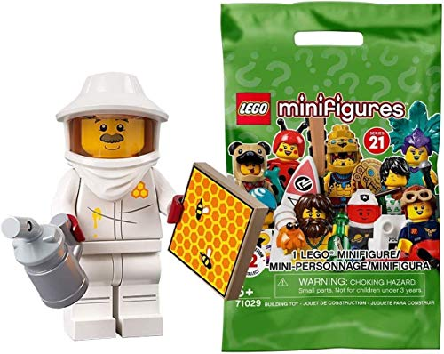 Lego 71029 Collectable Minifigures Series 21 - Beekeeper