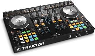Native Instruments 22400 - Traktor sistema DJ Kontrol S4 MK II (4 canales de mezcla, USB 2.0), color negro
