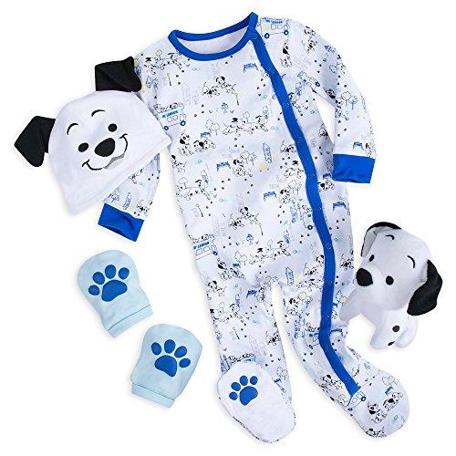Disney 101 Dálmatas - Set de regalo para bebé, color azul