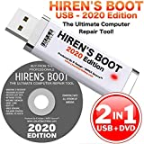 Hiren's Boot CD USB PE x64 bit Software Repair Tools Suite 2020 latest version 16.3 Best PC Computer Repair Recovery Windows 7, 8, 8.1 and 10 USB Produced By IMPEX Source