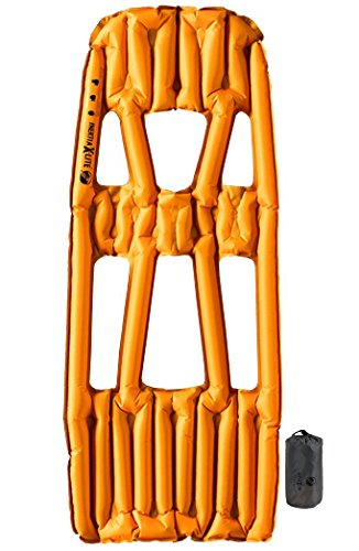 Klymit Inertia X Lite Ultralight Sleeping Pad, Orange/Gray