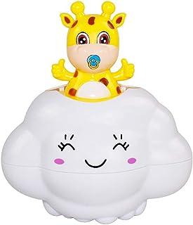 FunPa Kids Bathing Toy Lovely Watering Deer Raining Cloud Shower Toy Bathtub Toys