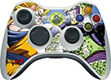 Skinit Decal Gaming Skin Compatible with Xbox 360 Wireless Controller - Officially Licensed Dragon Ball Z Dragon Ball Z Goku & Cell Design