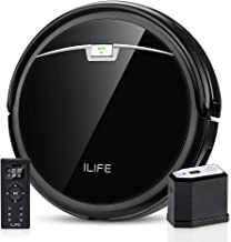 ILIFE A4s Pro Robot Vacuum, 2000Pa Max Suction, ElectroWall, Remote Control, Slim, Thin, Quiet, Self-Charging, Smart, Idea...