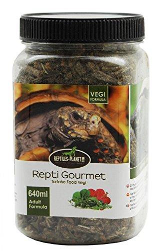 REPTILES PLANET Nourriture Repti Gourmet Formule Végétale pour Tortue terrestre Tortue Adulte 640 ml