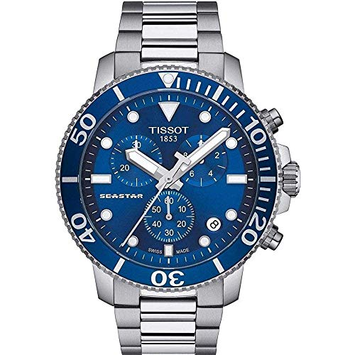 Tissot Men's Seastar 1000 - Blue - Quartz Watch