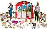 Barbie y Ken Van a Granja con Huerto, Animales y Accesorios Regalo para Niñas o Niños +3 Años (Mattel GFF51) , color/modelo surtido
