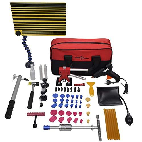 vidaXL Kit de Débosselage Réparation sans Peinture Atelier Véhicule Automobile