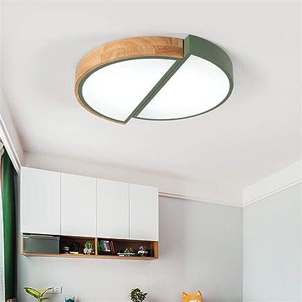 MTX Ltd Nordic Simple Lampe de Chambre Moderne Plafond Chaud