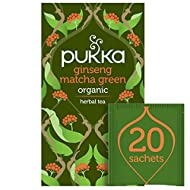 A tea to bring a spring-filled step to your day and colour to your life Up, up and away to the greenest of days Made with Ginger, Green Tea, Lemongrass and Licorice Good news for finding your inner spring Organic and Vegan Naturally Caffeinated