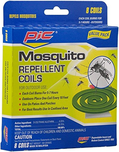 Pic C-8-24 8-Pack Mosquito Repellent Coils (3 x 8 packs)