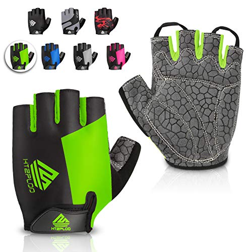 HTZPLOO Bike Gloves Cycling Gloves Mountain Bike Gloves...