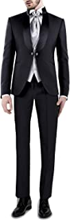 Hombre Conjunto Moderno de 3 Piezas Chaqueta de Traje Chaleco Pantalones para Fiesta Boda Banquete Fiesta de graduación