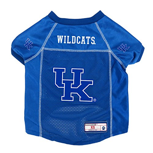 Little Earth NCAA Kansas State Wildcats Pet Jersey, Medium, Kentucky Wildcats