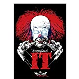 Carteles e impresiones Stephen King's IT Pennywise Horror Movie Art Poster Canvas Painting Home...