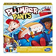 PRANK THE PLUMBER! The Plumber Pants pre-school game for kids aged from 4 years combines simple and silly gameplay with a fun surprise for all GETTING CAUGHT WITH HIS PANTS DOWN: Kids take turns loading the plumber's toolbelt; each tool added drops h...