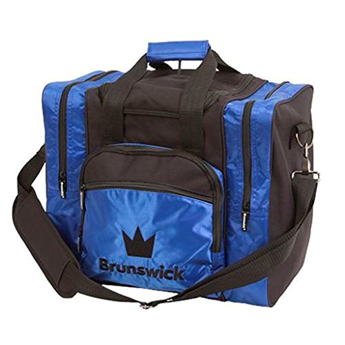 Brunswick Borde Single Tote – Bolsa de Bolos 59-BS1300-002, Azul