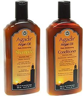 Agadir Argan oil nourishing shampoo and conditioner set - 366 ml