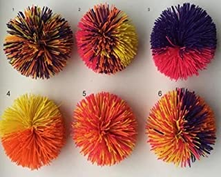 Koosh Ball Random Color - Great For Games Or As A Stress Ball - Colors May Vary ,#G14E6GE4R-GE 4-TEW6W230115