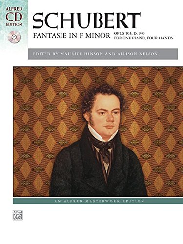 Fantasie in F Minor, Op. 103, D. 940: For One Piano, Four Hands (Book & CD)