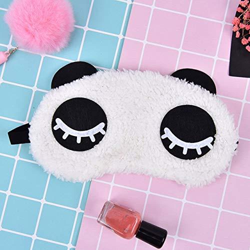 Panda linda Dormir Máscara de ojos Cara con los ojos vendados Sombra de ojos Viajar Dormir Ayuda para los ojos Cuidado de la salud Venta al por mayor Envío de la gota
