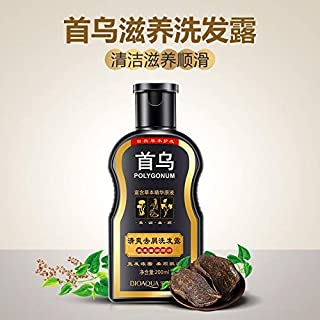 Shreeyas Polygonum multiflorum anti Shampoo Anti Dandruff Hair Glossy Hair Scalp Treatment Shampoo Black Hair Care Moisturizing Oil