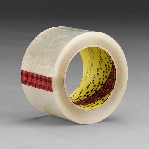 3M Label Protection Tape 3565, Clear, 96 mm x 100 m, 18 per case