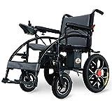 Silla de ruedas, silla de ruedas eléctrica, moderna inteligente 360 grados;Joystick Ligero Plegable Durable Al aire libre Empujar a mano / Eléctrico Anciano Discapacitado Cuatro ruedas Cómodo Eléc