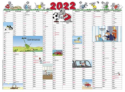 Uli Stein – Kalenderkarte 2022 VE 5