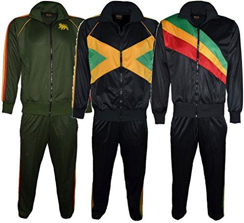 Roots Collection London - Chándal - para Hombre Jamaica Medium