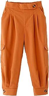 Zengyuan - Pantalones casuales para niña