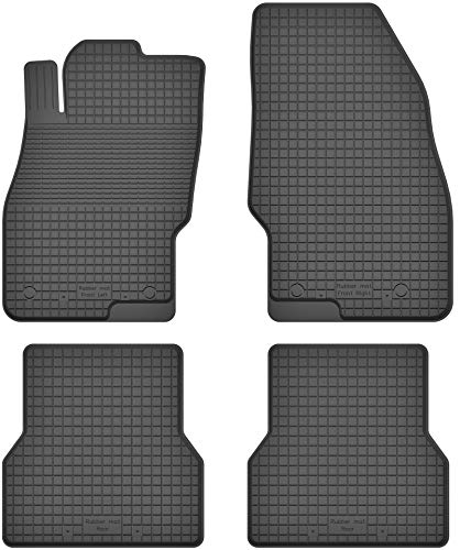 Fußmatten Gummimatten Winter Auto-matten Gummi hoher Rand 4-teilig Set Satz