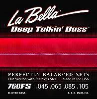 La Bella [ラベラ] 760FS フラットワウンドベース弦