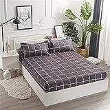 huyiming Bett Schleifen bettdecke schutzhülle staubschutz matratzenbezug einteiliges Bett Set doppel Einzel rutschfeste bettlaken 150 * 200