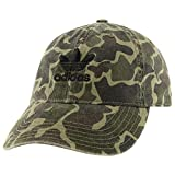 adidas Originals Men's Relaxed Modern Strapback Cap (Forest Camo)