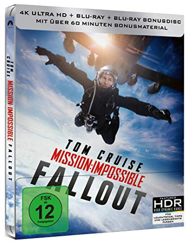 Mission: Impossible 6 - Fallout (4K UHD) Limited Steelbook [HD DVD]