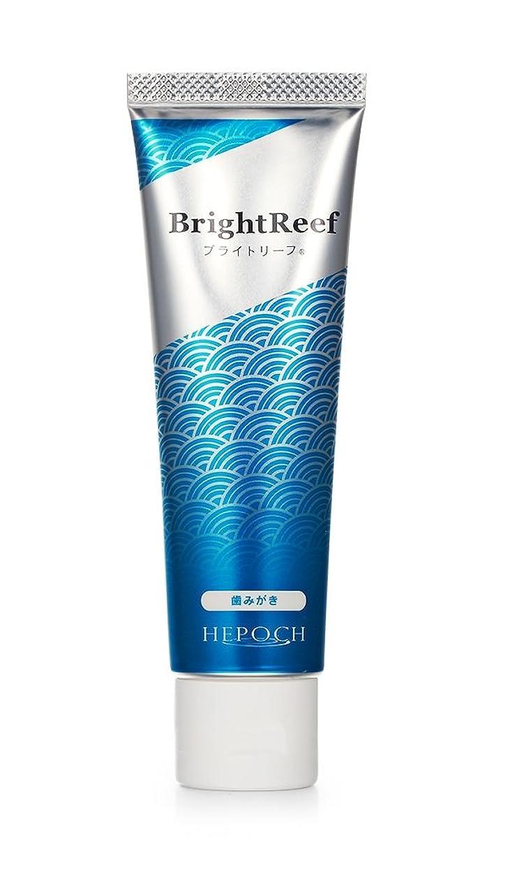 無条件正確さ突き出すブライトリーフ 歯磨き粉 化石サンゴ由来ヒドロキシアパタイト配合ブライトニング歯磨き粉