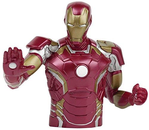 WTT Bust Bank Avengers 2 Iron Man 38308/12 65BBAV12 Multicolore