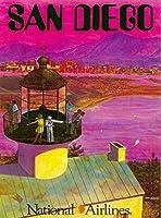 ERZAN風景 知育 puzzleサンディエゴCaifornia米国アメリカ ビンテージ旅行広告ジグソーパズル500ピース