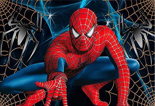 Spiderman Tapete Benutzerdefinierte 3d-fototapete Superheld Wandbild Jungen Schlafzimmer Wohnzimmer Kindergarten Designer Raumdekor