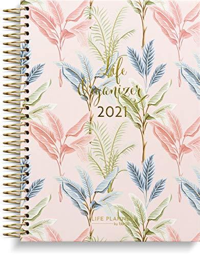 Burde Life Organizer | Kalender 2021 | 28. Dezember 2020 bis 2. Januar 2022 | Strukturierter Wochenplaner mit viel Platz |