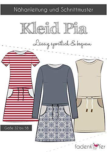 Schnittmuster und Nähanleitung - Damen Kleid - Pia