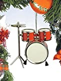 Musical Instrument Christmas Ornament (3' Red Drum Set) by Broadway Gifts
