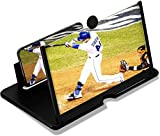 Golondy 14 Screen Magnifier for Smartphone Magnifying Projector Screen with Stand-Cellphone Universal Screen Amplifier for Video and Gaming-Phone Mount Compatible with All Phones