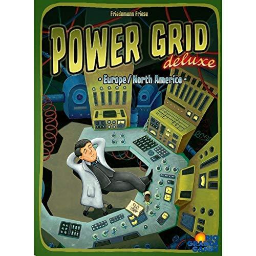 Rio Grande Power Grid Deluxe Europe/Amérique du Nord Jeu de société