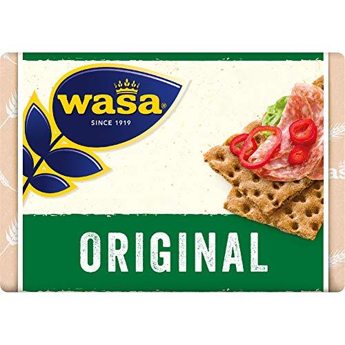 Wasa Original, Fette di Pane di Segale Croccante, 275g.