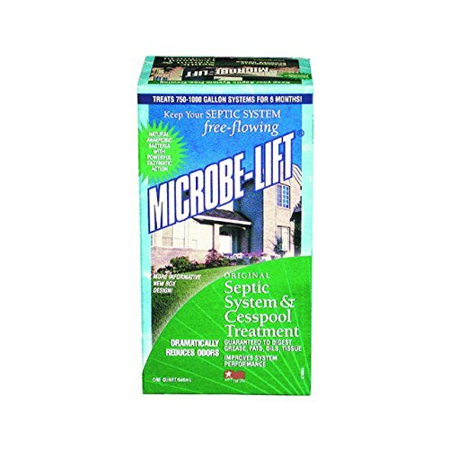 Ecological Laboratories Microbe-Lift Septic and Cesspool Treatment 32 fl. oz by Ecological Laboratories