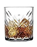 Pasabahce 52790 Whisky Glas Tumbler Timeless im Kristall-Design, Höhe 9,6 cm, 345 ml, 6 Stück,...